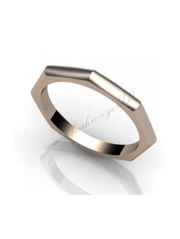 "WEDDING RING ""EDGES"""
