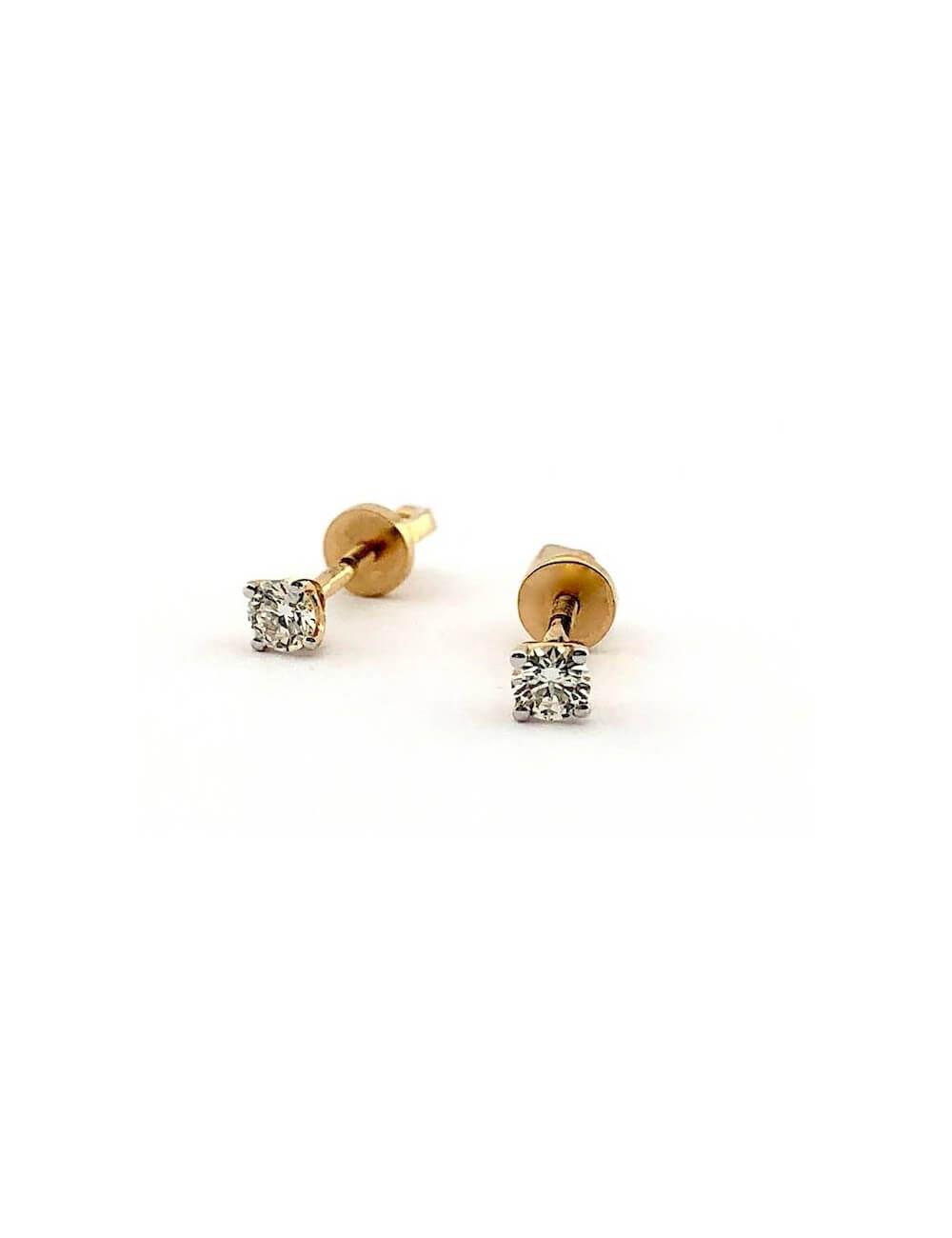 "Auksiniai auskarai ""Myliu myliu"""