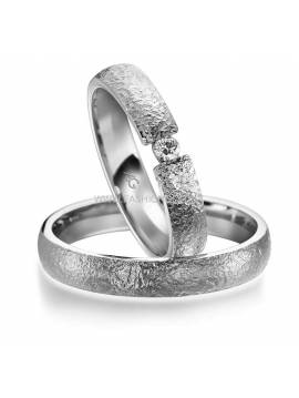 "WEDDING RING ""MEMORY"" (with diamond)"