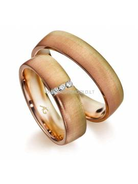 "WEDDING RING ""OMBRE"" (with diamonds)"