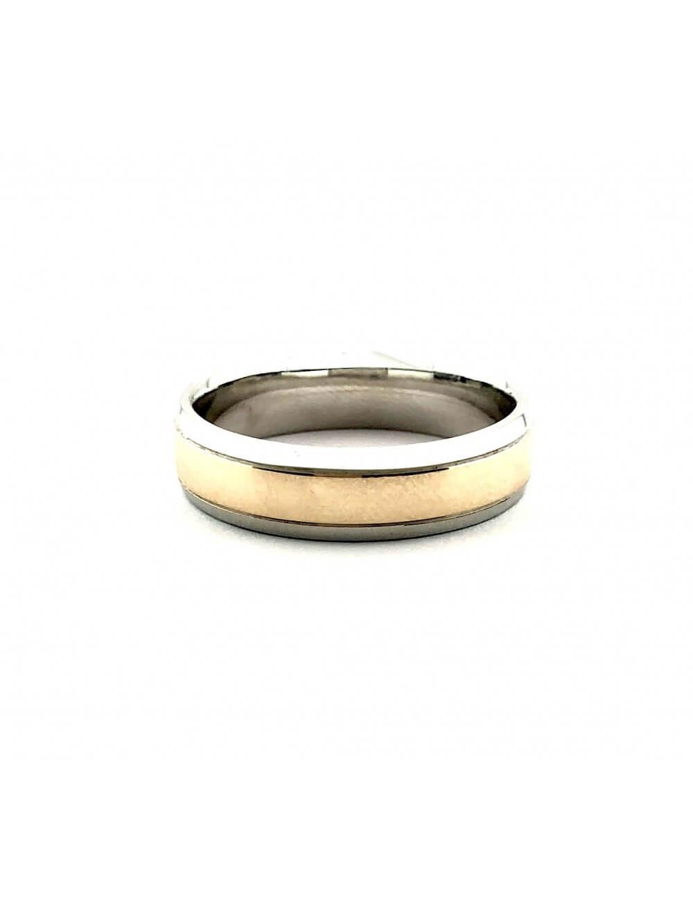 """Vyšikas vestuvinis žiedas """"Solidumas"""""""