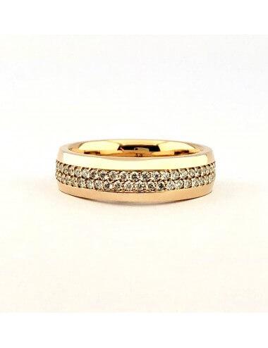 """Vestuvinis žiedas """"100 deimantų"""""""