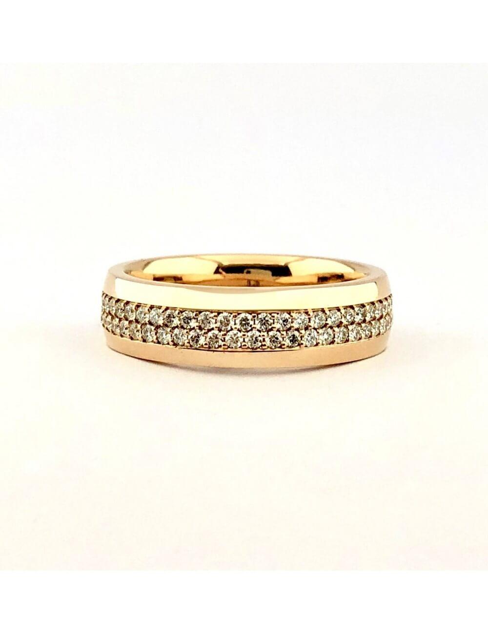 """Vestuvinis žiedas """"Viskas viename"""" (baltas auksas)"""
