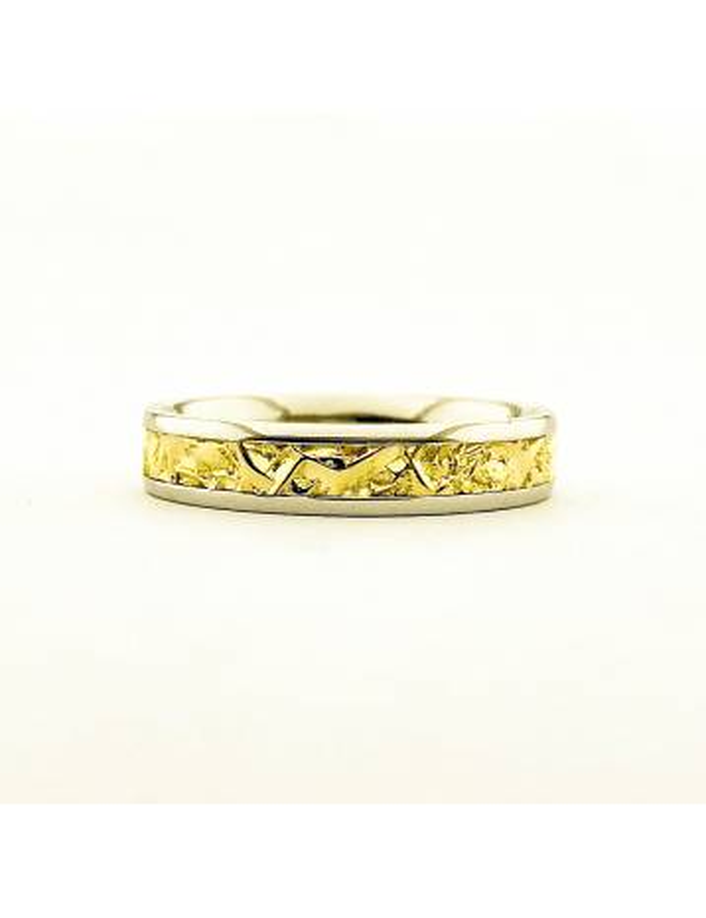 """Vestuvinis žiedas """"Kontrastingos spalvos ir paviršiai"""""""