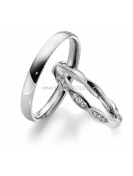 "WEDDING RING ""ITALY"" (with diamond)"