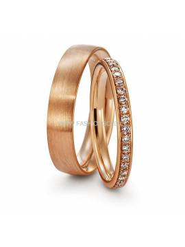 "WEDDING RING ""LOVE ETUDE"" (without diamonds)"