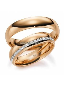 "WEDDING RING ""21"" (with diamond)"