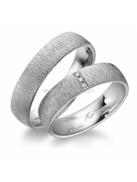 "WEDDING RING ""LOVE FROTS"" (with diamonds)"