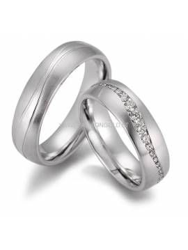 "WEDDING RING ""ROMANCE"" (without diamonds)"