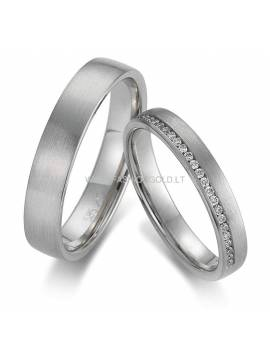 "WEDDING RING ""ETERNITY ETUDE"" (with diamonds)"