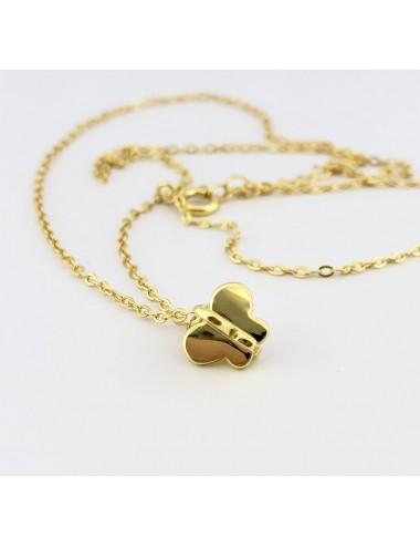 """Sidabrinis kryžiukas iš kolekcijos """"Baby Fashion Gold"""""""
