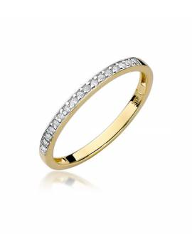 """Balto aukso deimantinė juostelė """"Džiaugsmas"""""""