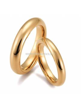 "WEDDING RING ""BACK AND FUTURE"" (for women)"