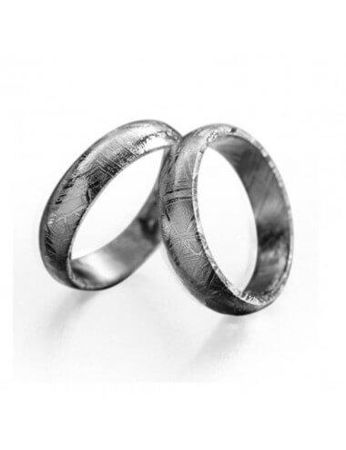 """Vestuvinis žiedas """"Meteoritas"""""""