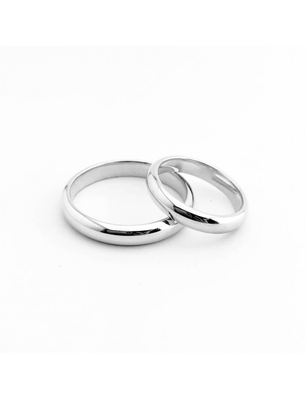 """Vestuvinis žiedas """"Klasika 2020"""" 4 mm GAMYBA"""