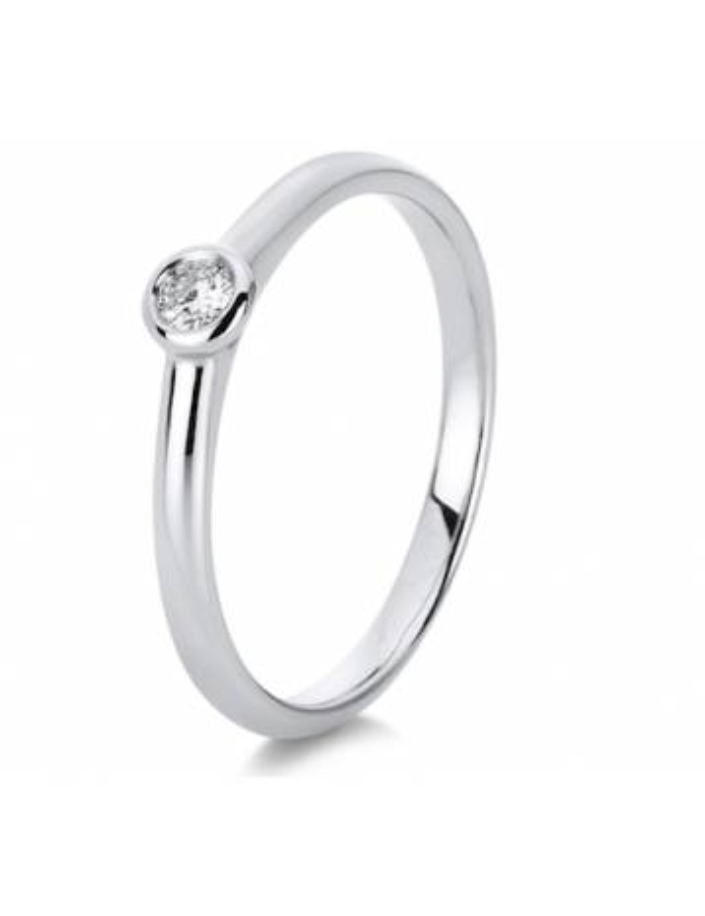 """Sužadėtuvių  žiedas su briliantu """"Artumas"""""""