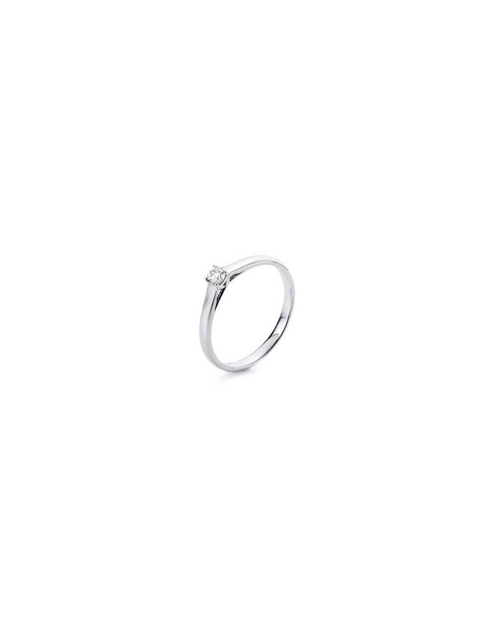 """Sužadėtuvių  žiedas su briliantu """"Mylimoji"""""""