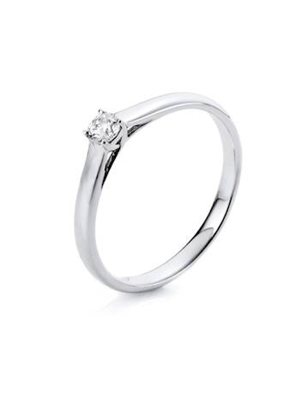 "Auksinis žiedas su briliantu ""Deimantukas"""