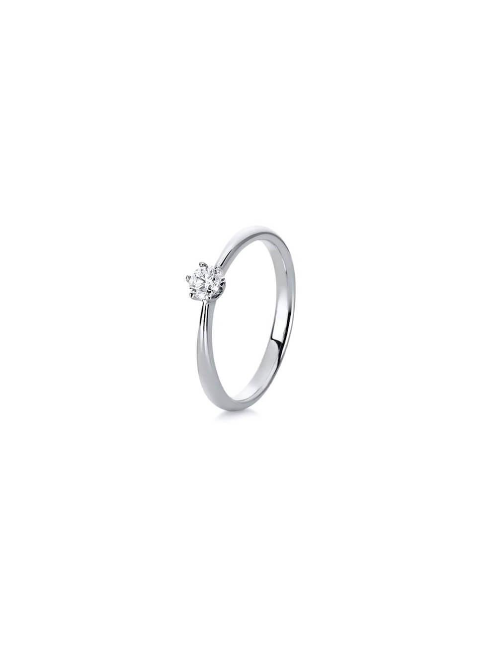 """Sužadėtuvių  žiedas su briliantu """"Draugystė""""  (16,5 dydį turime salone)"""