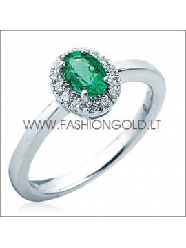 "GOLD RING ""GREENNESS"""