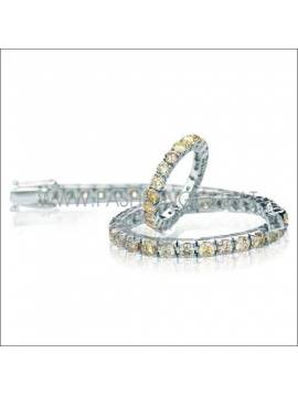 BRACELET WITH YELLOW DIAMONDS