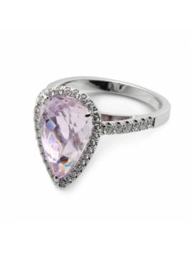 GOLDEN RING WITH AMETHYSTE