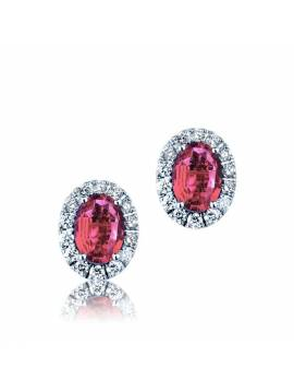 "EARRINGS ""RUBIES"""