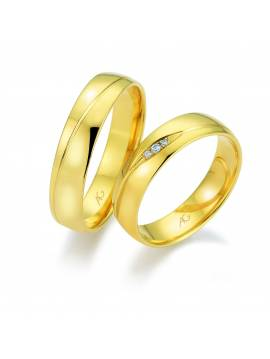 "WEDDING RING ""LOVE ISLAND"""