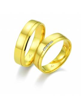 "WEDDING RING ""FIVE"""
