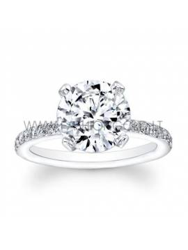 "ENGAGEMENT RING ""IMPORTANT MOMENT"" (with 0,20 ct diamond)"