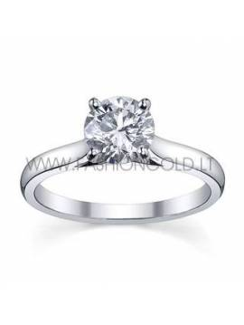 "ENGAGEMENT RING ""LOVE BUD"" (with 0,20 ct diamond)"