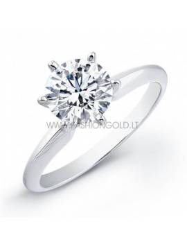 "ENGAGEMENT RING ""LOVE STAR"" (with 0,20 ct diamond)"