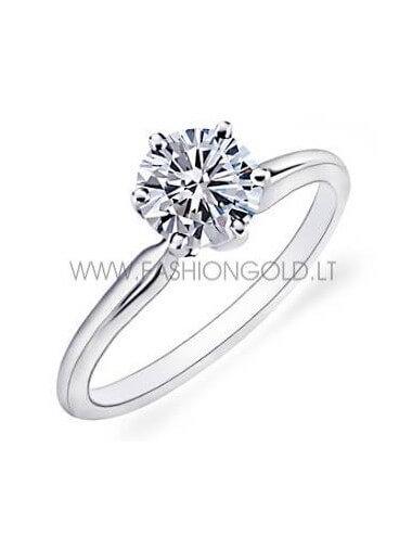 "ENGAGEMENT RING ""ROMANTIC SUN"" (with 0,20 ct diamond)"
