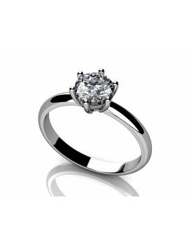 "ENGAGEMENT RING ""LOVE SOUL"" (with 0,20 ct diamond)"