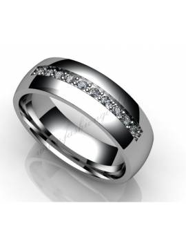"WEDDING RING ""LOVE TALE"""