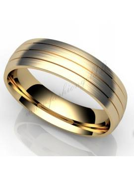 "WEDDING RING ""LINES"""