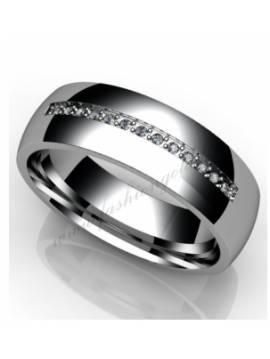 "WEDDING RING ""ANGEL'S TOUCH"""