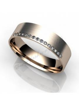 "WEDDING RING ""STARRY SKY"""
