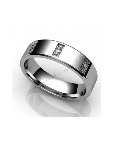 "WEDDING RING ""FOOTSTEP"" (glittery)"