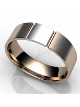 "WEDDING RING ""LOVE STAMP"""