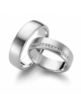 "WEDDING RINGS ""LOVE LIGHT"" (with diamonds)"