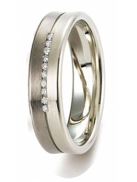 "WEDDING RING ""SACRED FEELINGS"" (with diamonds)"
