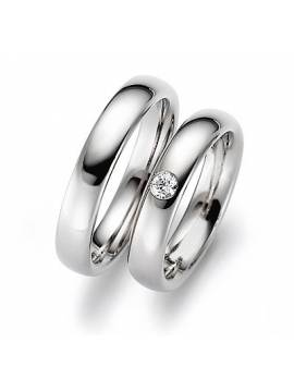 "WEDDING RINGS ""FORGET ME NOT"" (with diamonds)"