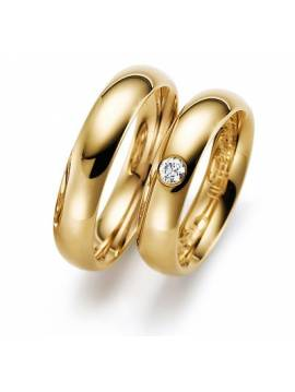 "WEDDING RINGS ""INFINITY"""