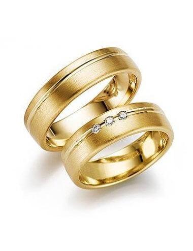 "WEDDING RINGS ""DREAM CATCHER"" (with diamonds)"