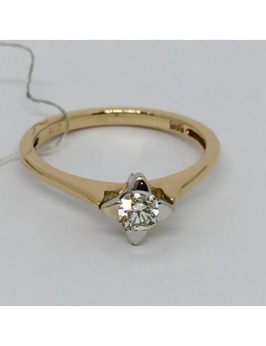 """Sužadėtuvių žiedas """"Deimantinė gėlytė"""""""