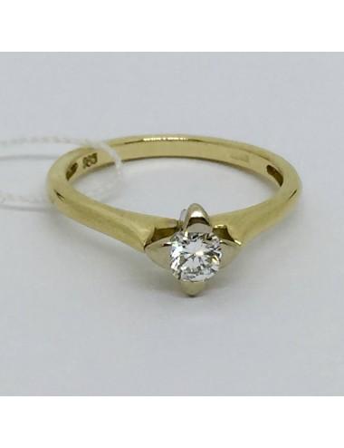 """Sužadėtuvių žiedas """"Geltona saulutė"""""""
