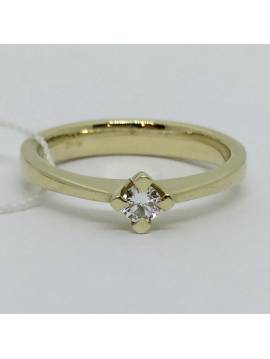 "ENGAGEMENT RING ""GOLD LUCK"""