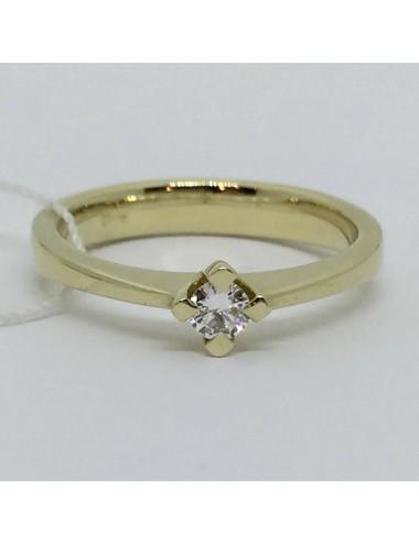 """Sužadėtuvių žiedas """"Auksinė laimė"""""""