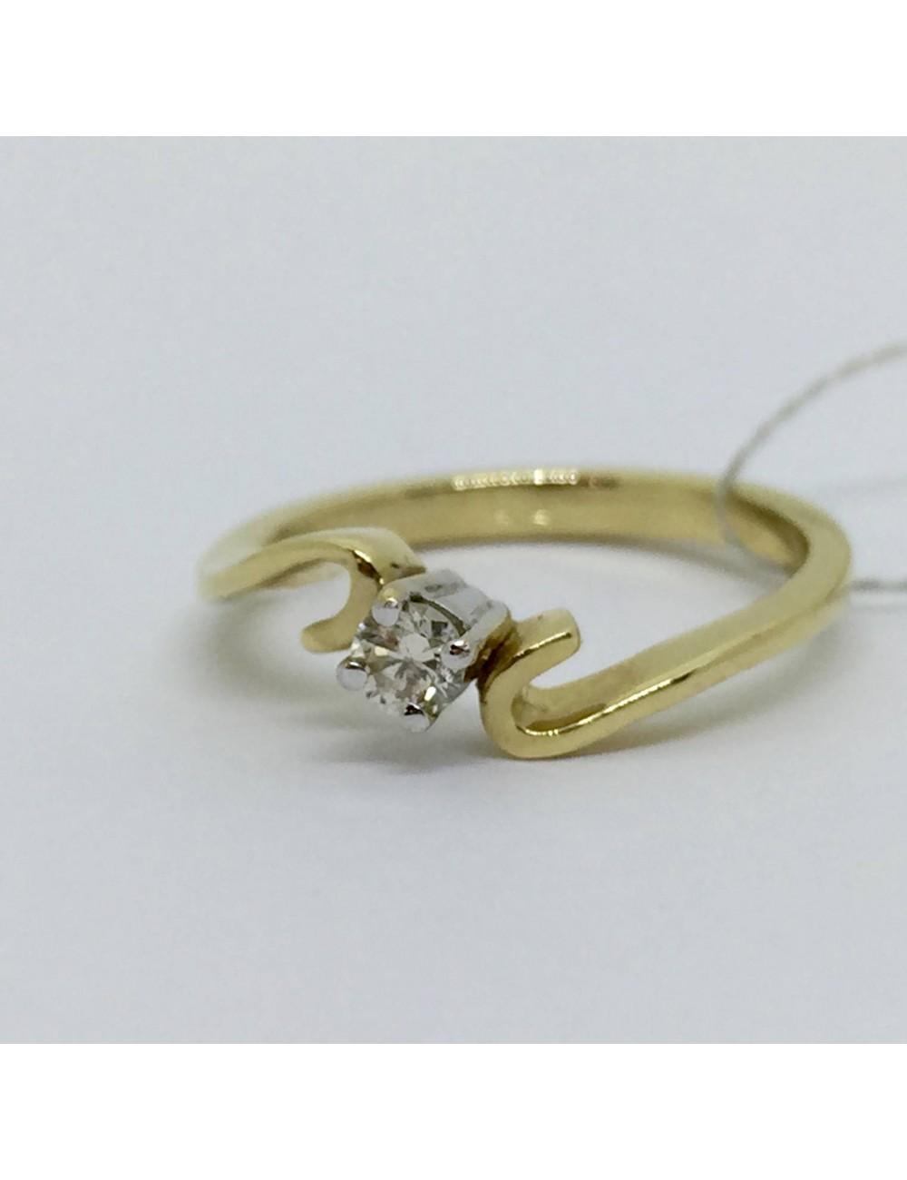 """Sužadėtuvių žiedas """"Raitytas auksas"""""""